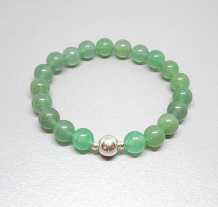 green aventurine crystal bracelet, healing crystals and stones