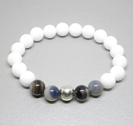 healing gemstone bracelet, healing crystals and stones