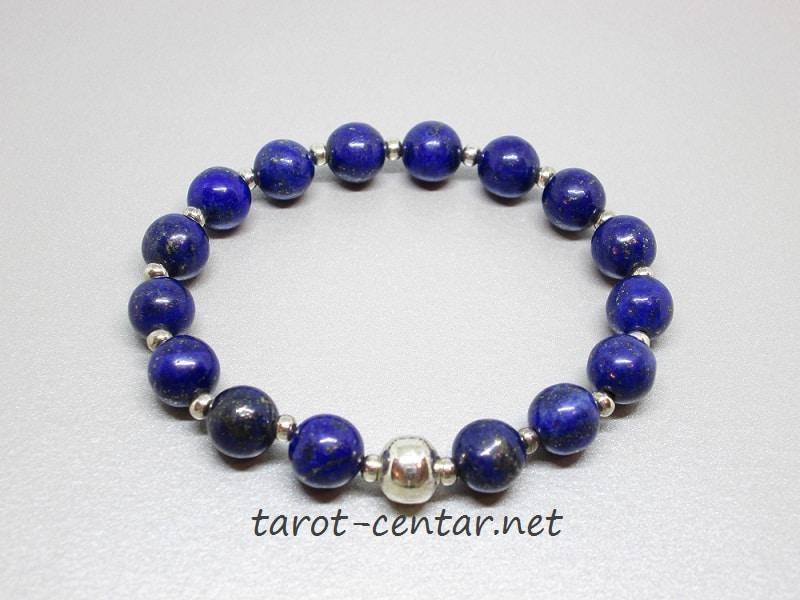 lapis lazuli narukvica, kristali , poludrago kamenje, tarot, astrologija