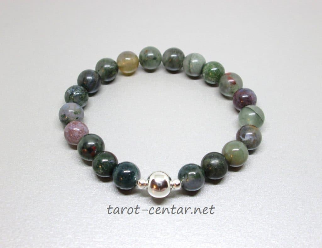 indijski ahat, poludrago kamenje, energetski nakit, kristali, bioenergija, tarot centar, drago kamenje, nakit, narukvice