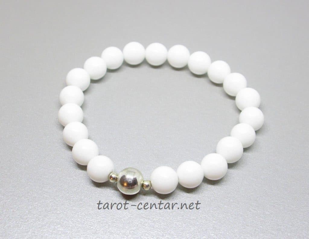 bijeli žad nakit, bijeli žad djeovanje, bijeli žad narukvica, gdje kupiti, bijeli kristali, poludrago kamenje, tarot, tarot majstori, tarot centar, kristaloterapija